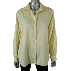 Foxcroft 12 Wrinkle Free Shaped Fit Button Shirt